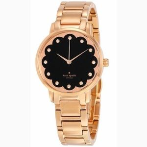Kate Spade KSW1044 Gramercy Rose Gold Watch-NWT